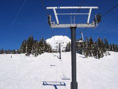 Timberline ski area, Mt. Hood