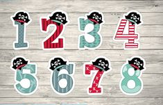 Aplique Números Piratas Pirate Birthday, Pirate Party, Block Lettering, Lululemon Logo, Birthday Party Themes, Alphabet, Halloween, Logos, Bernardo