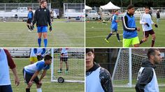 BREMERTON, WA---The Kitsap Pumas held the first day of their Saturday-Sunday open tryouts on January 30th at Gordon Field in Bremerton as around 75 players tried to catch the eyes of head coach Cam...