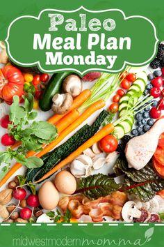 Paleo Meal Plan Monday – Week of 1/8