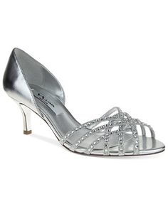 SILVER DIAMANTE LOW MID HEEL PROM EVENING WEDDING SHOES SANDALS