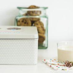 Caja metálica wonder - Déjate de dietas y come más galletas #mrwonderful #box #cookies