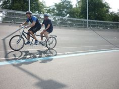 Racing tandem with Blind Veterans UK Tandem Bikes, Cycling Events, Blind, First Love, Wheels, Bicycle, Racing, Sports, Running