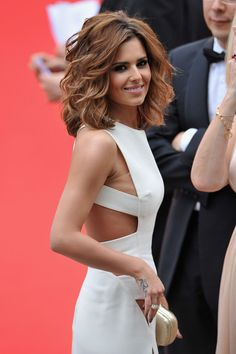 More Pics of Cheryl Cole Short Wavy Cut