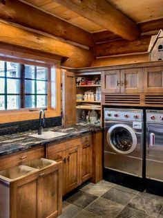 """Fantastic """"laundry room storage diy small"""" info is available on our internet site. Have a look and you wont be sorry you did. Rustic Laundry Rooms, Laundry Room Organization, Laundry Room Design, Laundry Storage, Closet Storage, Diy Storage, Storage Ideas, Storage Shelves, Small Shelves"""