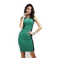 Brand New Women's Elegant Package Hip Slim OL Work Office Dress Patchwork Bodycon Dresses Pencil Dress Work Wear