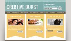 cre8tive burst theme