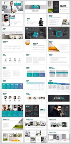 KIA Powerpoint Template by Timmy Themes on @creativemarket