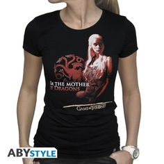 GAME OF THRONES T-shirt Game of Thrones femme Mother of dragons