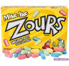 zours Best sour candy in the world hands down !