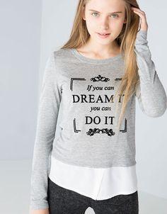T-shirt BSK mensagem