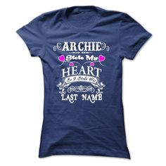 cool ARCHIE STOLE MY HEART ! 2015 Check more at http://yournameteeshop.com/archie-stole-my-heart-2015.html