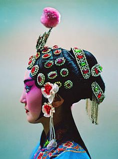 pinned by Anika Schmitt Chinese Makeup, Chinese Opera, Dragon Dance, Exotic Art, Cultural Appropriation, Fru Fru, Cultural Identity, Beautiful Costumes, Thats The Way