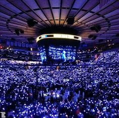 New York Knicks season opener in Madison Square Gardens with XYLOBANDS from TLC Creative