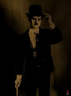 """A stylized version of Charlie Chaplin / Stailaamani """"Charlie Chaplin"""" Charlie Chaplin, Windmill, Abraham Lincoln, Black And White, Photos, Fictional Characters, Pictures, Black N White, Black White"""