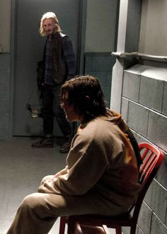 """"""" Daryl and Dwight in The Walking Dead Season 7 Episode 3 