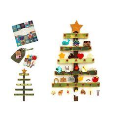 Deluxe Felt Heirloom Jesse Tree Advent Ornament and Tree Set Advent Calendar Voskamp Devotion Christmas Countdown Biblical Advent Calender