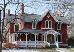 Schermerhorn House (1869), Riverside | Flickr - Photo Sharing!