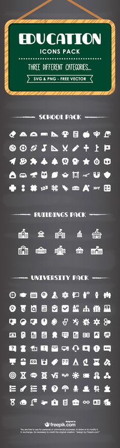 Free Download – Educations Icon Pack (Exclusive)