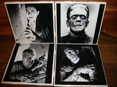 Universal Monsters Coasters set of 4 by KTsCoasterBoutique on Etsy, $15.00