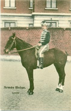 Armée Belge -Lancier