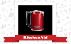 The Empire Red Variable Temperature Kettle is the appliance of my holiday dreams. Declare and Share your favourite KitchenAid small appliance for a chance to win it! Small Appliances, Kitchen Appliances, Empire, Variables, Kitchenaid, Kettle, Holiday, Christmas, House Design