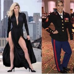 USMC 🇺🇸 I am an IFBB bikini pro. I have my own online coaching business and work with Mon Ethos talent agency. Did 4 years Active duty with the Marine Corps and currently in the reserves. Military Girl, Female Soldier, Military Women, Girls Uniforms, Men In Uniform, Gorgeous Women, Beautiful, Looking For Women, Catsuit