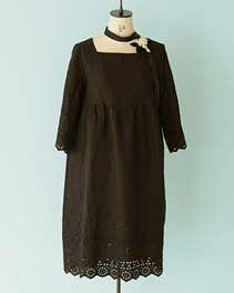 pindot/ホームクチュール/ワンピースそのまま着ても、重ねて着ても Short Sleeve Dresses, Dresses With Sleeves, Long Sleeve, Japanese Sewing Patterns, Couture, Shopping, Fashion, Moda, Sleeve Dresses