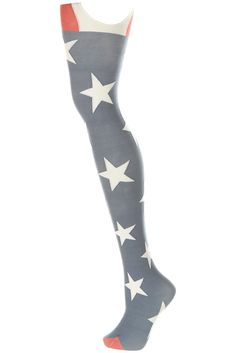 #Henry Holland takes stars and stripes to a thigh-high level! - I LOVE Henry Holland  Other Accessories #fashion #accessories #nice  www.2dayslook.com