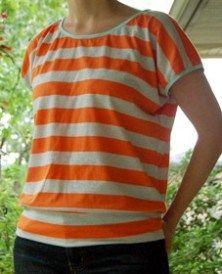 Tutorial: The Slouchy Shirt | Sewing | CraftGossip.com