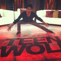 Tyler Posey being awesome-sauce. #presenting