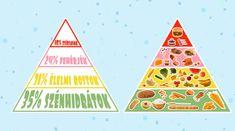 Ételpiramis - Egészséges táplálkozás - Egészségtan 3-6. osztály VIDEÓ - Kalauzoló - Online tanulás Triangle