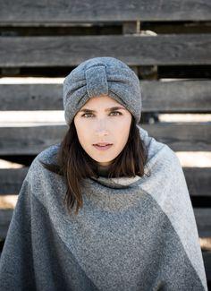 Manna turban with Ania Poncho