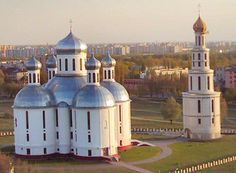 This is the Resurrection Church of Brest, Belarus.