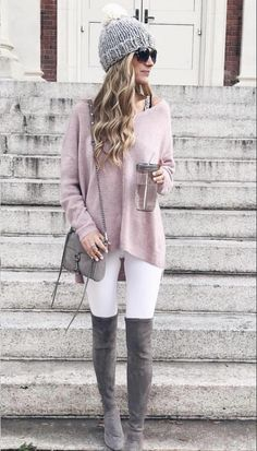 Winter Fashion: 45 Cute Winter Outfits to Copy Now ⋆ BrassLook Winter Outfits Women, Winter Fashion Outfits, Casual Fall Outfits, Look Fashion, Stylish Outfits, Autumn Winter Fashion, Casual Fall Fashion, Winter Clothes Women, Fall Hats For Women