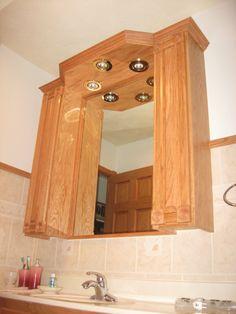 custom medicine cabinet home furniture design
