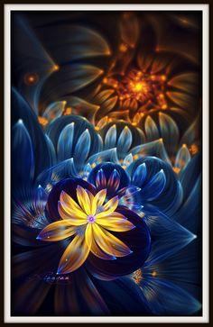 Secret of flowers by ~fractist on deviantART