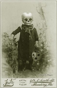 Creepy Victorian photo (altered.)
