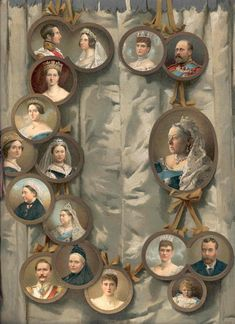 Victoria and Albert's Great Nine Queen Victoria Children, Queen Victoria Family, Queen Victoria Prince Albert, Victoria And Albert, Royal Family Trees, English Monarchs, Medieval Gothic, Rule Britannia, Her Majesty The Queen