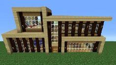 MINECRAFT: How To build A Modern House / Best modern House 2013 ...