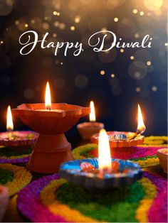 Send Free Colorful Candles - Happy Diwali Card to Loved Ones on Birthday & Greeting Cards by Davia. It's free, and you also can use your own customized birthday calendar and birthday reminders. Happy Diwali Pictures, Happy Diwali Wishes Images, Diwali Wishes Quotes, Happy Diwali Wallpapers, Best Diwali Wishes, Diwali Cards, Diwali Greeting Cards, Diwali Greetings, Birthday Greetings