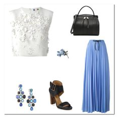 """Untitled #2176"" by amdavis1218 on Polyvore featuring MSGM, Ippolita, Jil Sander and Splendid"