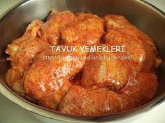 tavuk kanat ızgara sosu | TAVUK YEMEKLERİ HAMDİ USTA
