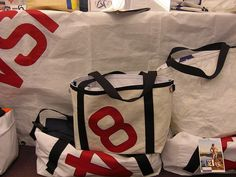 recycled sails - bags