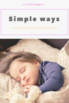 You and your child can get some more sleep using these simple suggestions via @Modern Day Hippie Mama