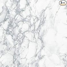 "d-c fix 346-0306-3PK Decorative Self-Adhesive Film, Grey Marble, 17"" x 78"" Roll, 3-Pack - - Amazon.com..."