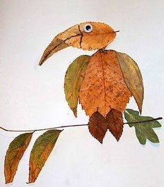 ideas nature camping crafts leaves for 2019 Autumn Crafts, Autumn Art, Nature Crafts, Autumn Leaves, Leaf Projects, Art Projects, Land Art, Art Et Nature, Leaf Animals