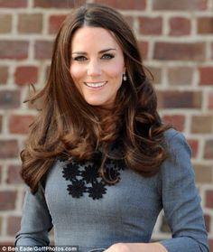 Duchess Kate's amazing hair