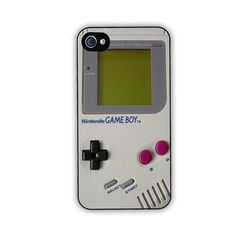 Game Boy iPhone 4 or 4s case by Mike at FineArtDesigns