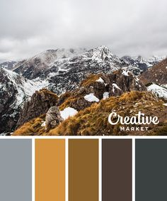 15 Downloadable Color Palettes For Winter ~ Creative Market Blog